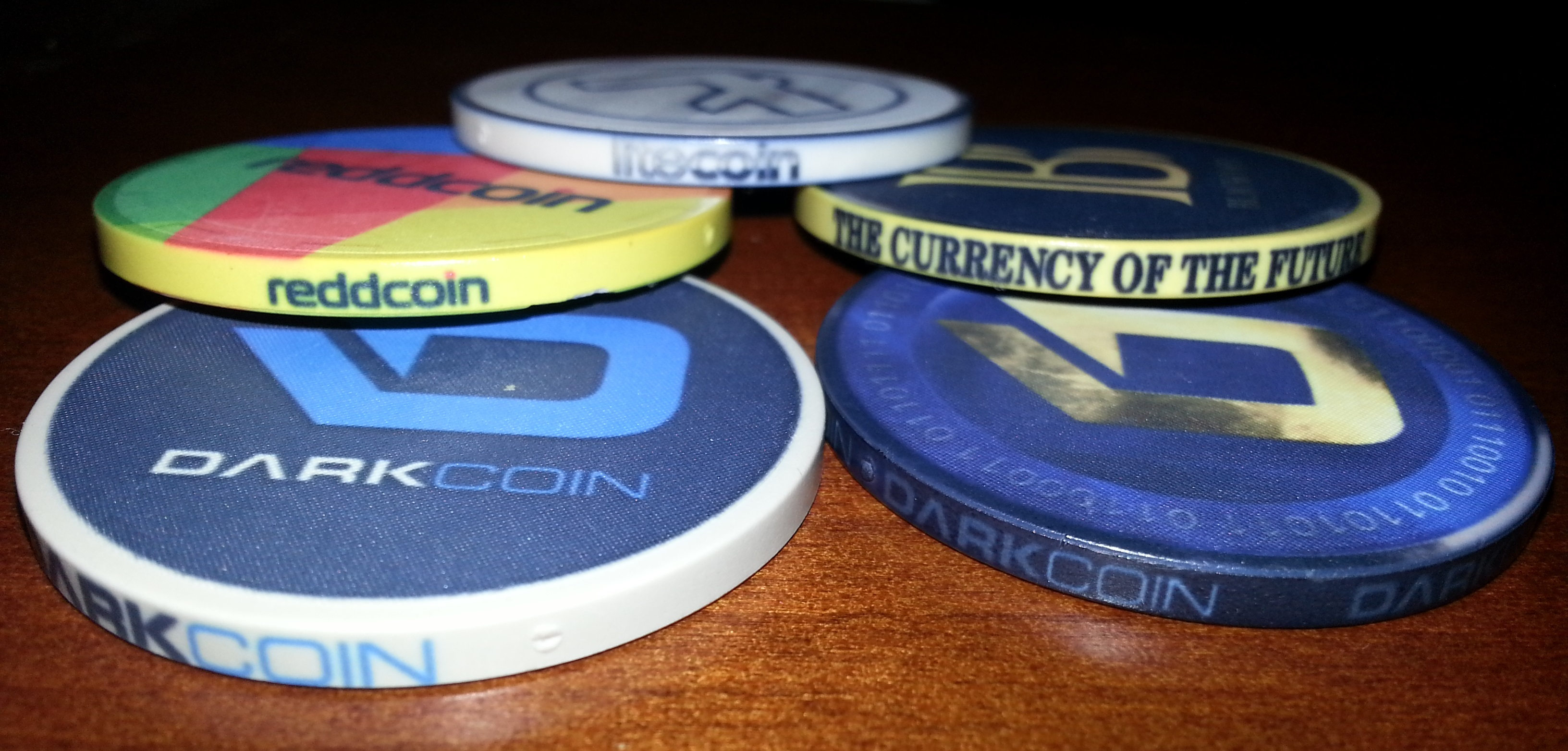 Crypto Chips Poker Chips