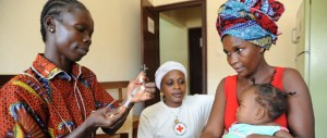 Red Cross Holiday Campaign Vaccinations