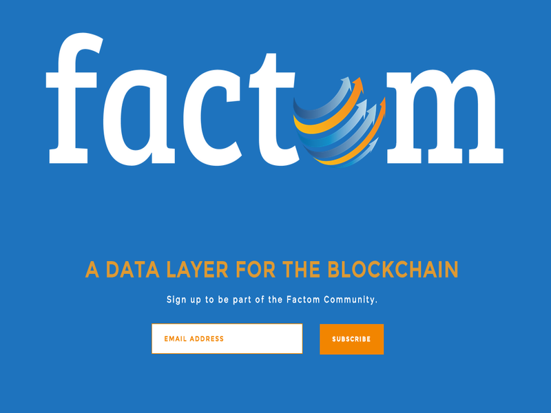 Factom Bitcoinist.net