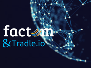 Bitcoinist Factom Tradle Partnership