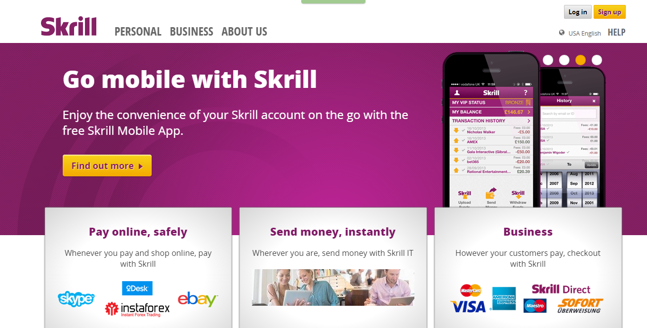 Skrill Website Bitcoinist
