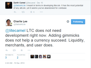 Bitcoinist_Charlie Lee Development