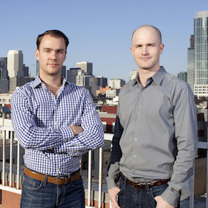 Coinbase co-founders Fred Ehrsam and Brian Armstrong - Bitcoinist.net