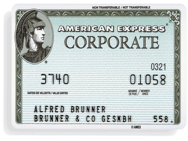 Bitcoinist_American Express Corporate Card