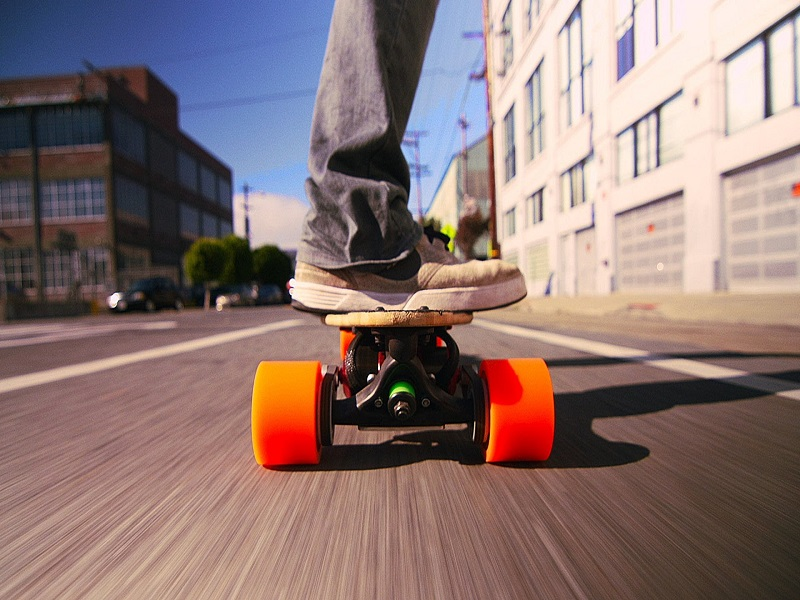 Bitcoinsit_FacePlant Electric Skateboard
