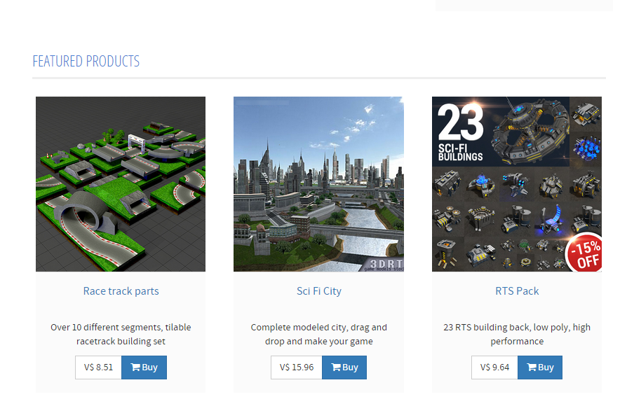 voxelus marketplace