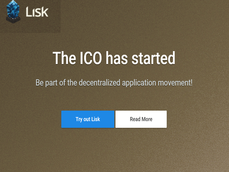 Lisk PR Buzz Cover ICO Start