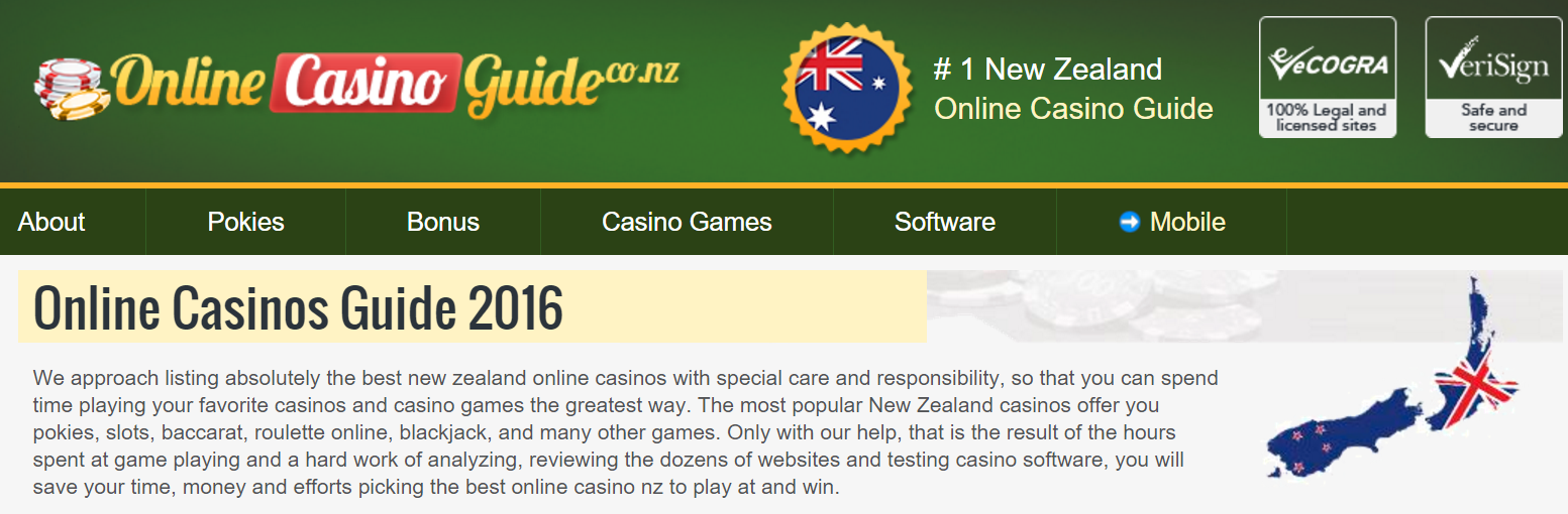 all online casino list