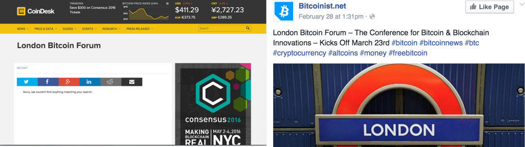 London Bitcoin Forum