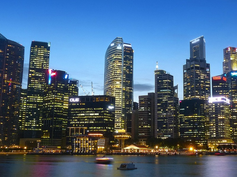 singapore-morning-skyline