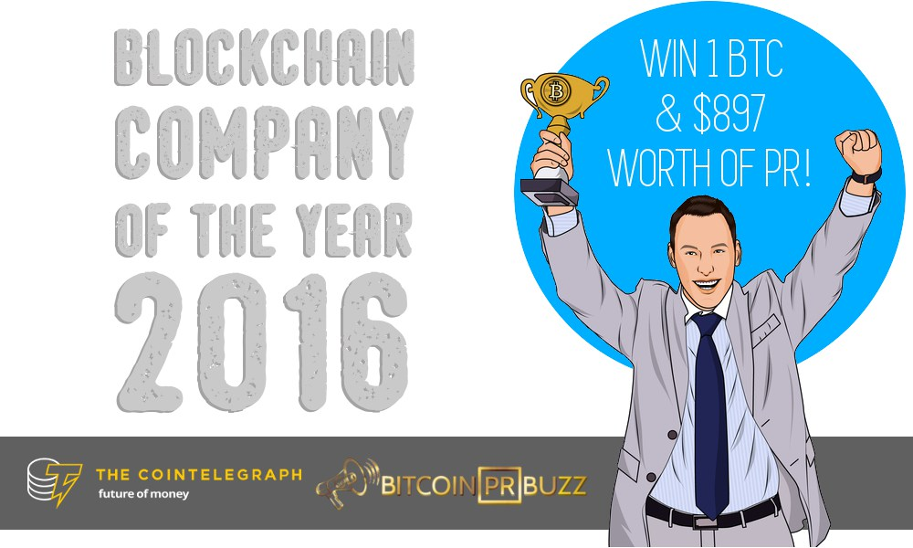 bitcoin-pr-buzz-contest-blockchain-company-of-the-year-2016