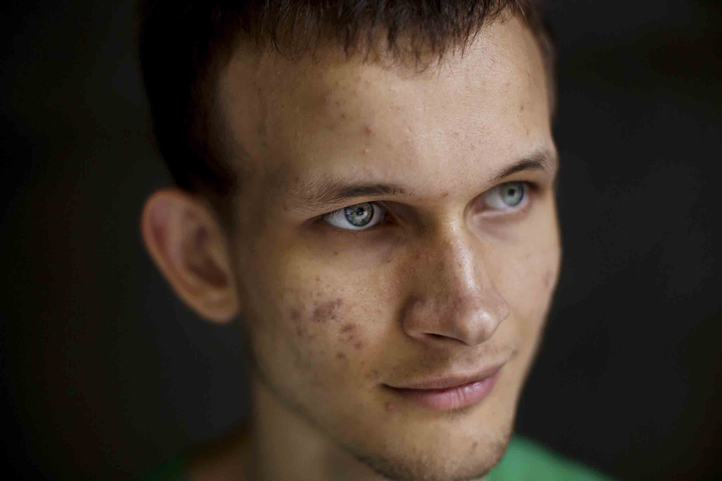 13 September, 2016 - Shanghai, China --  Story on Crypto-currency. Vitalik Buterin created his own digital currency called Etherium. -   PHOTO: Vitalik Buterin.--  Photographer: Julie Glassberg for Fortune.