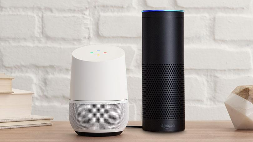 Google Home & Amazon Echo