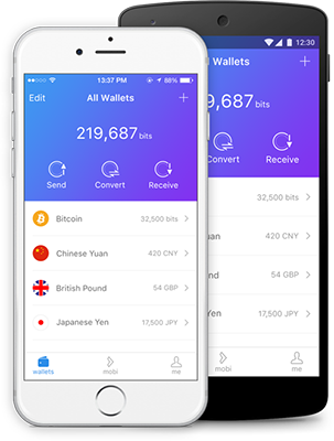 Mobi Multicurrency Wallet Features