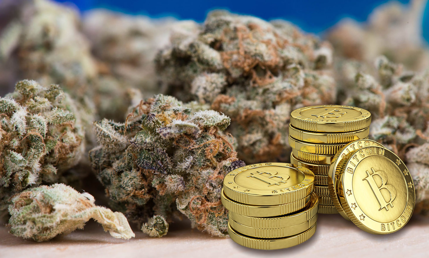 Bitcoin Solves Legal Marijuana's Federal Banking Problem