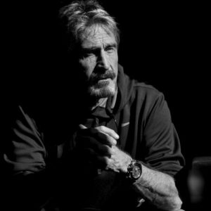 MGT Capital Investments CEO John McAfee