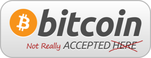 Bitcoin not accepted