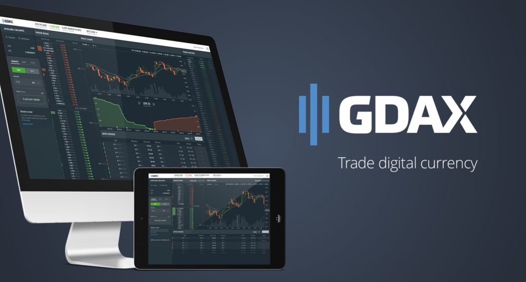 GDAX bitcoin exchange