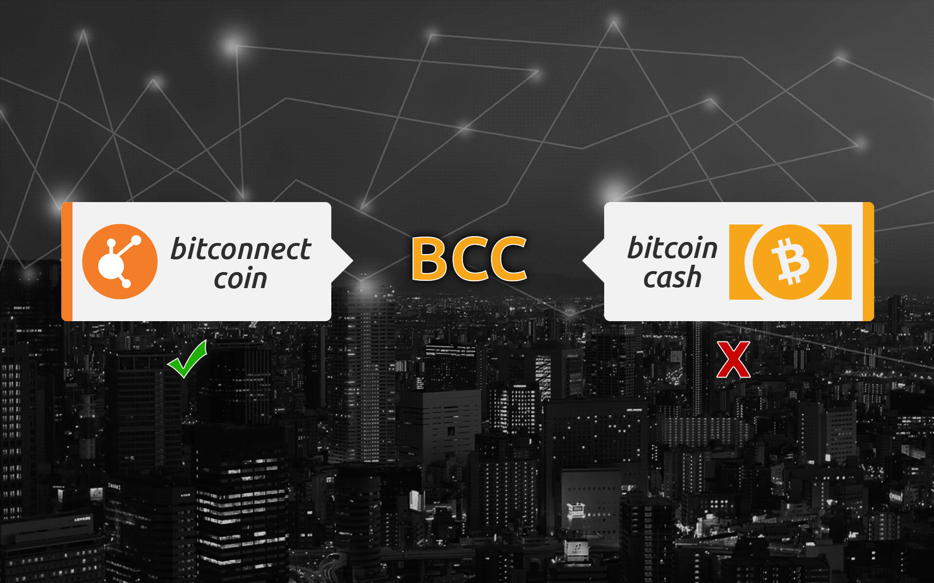 Cryptocurrency Confusion: BitConnect Coin Forced to Confirm Ownership of its BCC Symbol