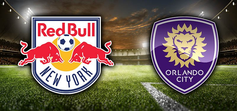 New York Red Bulls and Orlando City - MLS