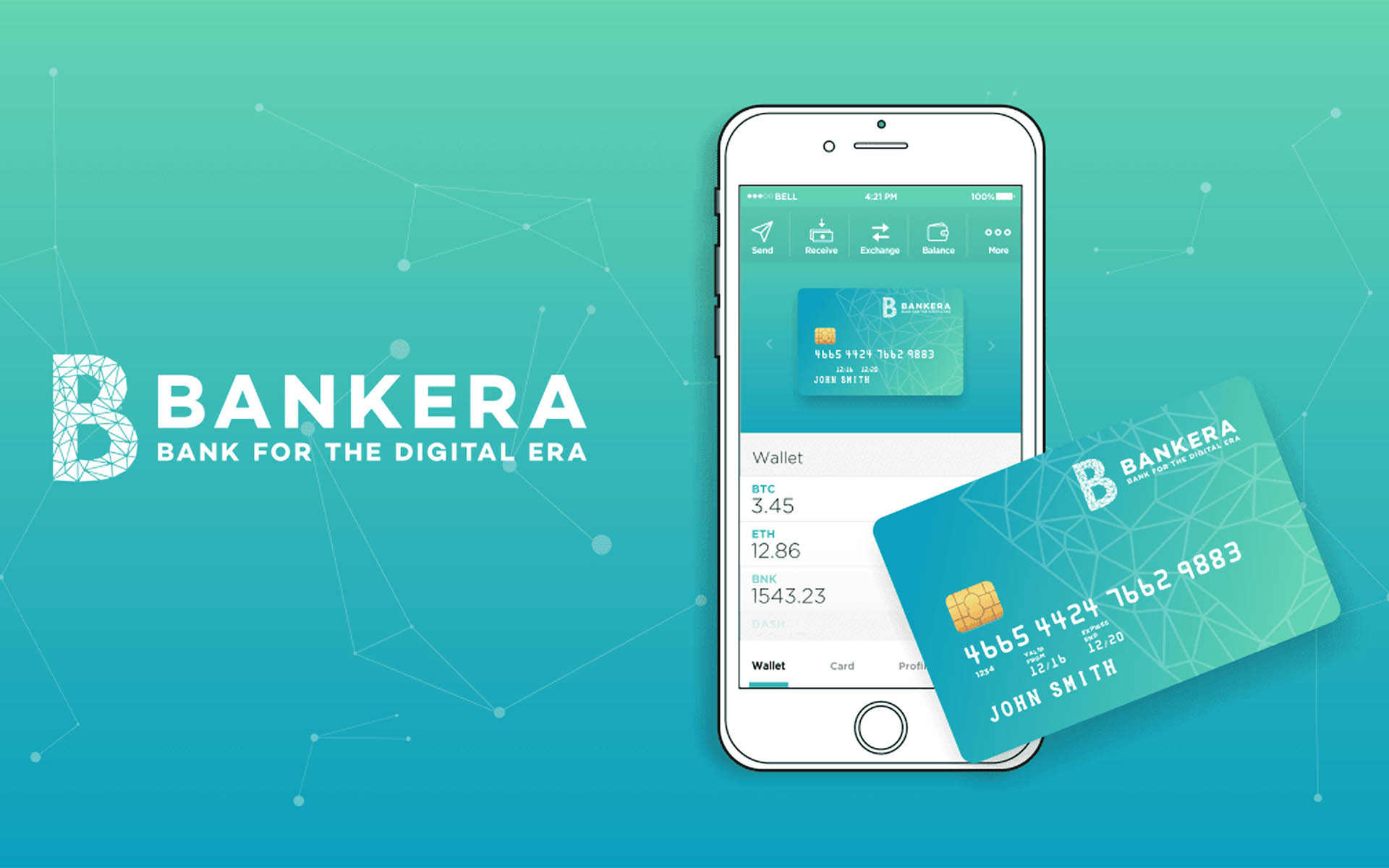 Bankera Blockchain Based Regulated Bank Announces Crowdsale, Tokens Available on SpectroCoin