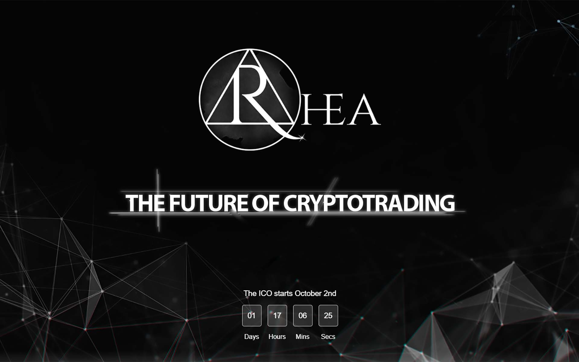 Countdown to the Rhea ICO
