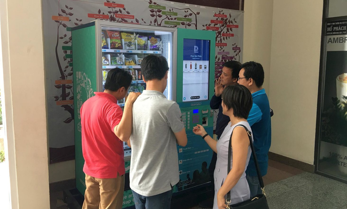 Vietnam's Largest Smart Vending Machine Operator Dropfoods to Raise Funds Through ICO on 21 Sept