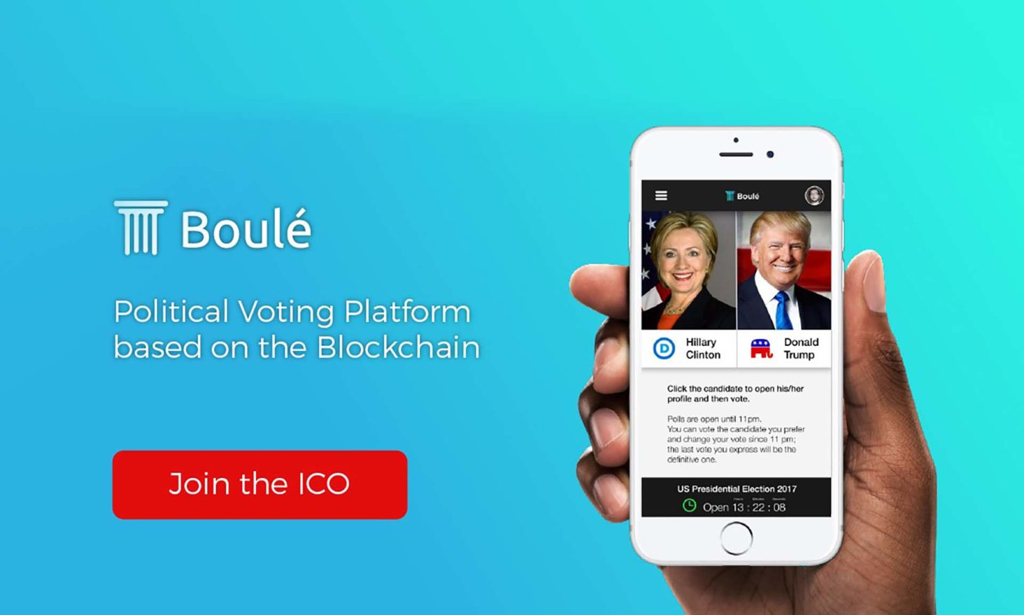 Introducing Boulé: Blockchain-Based Online Voting Technology ICO Launch