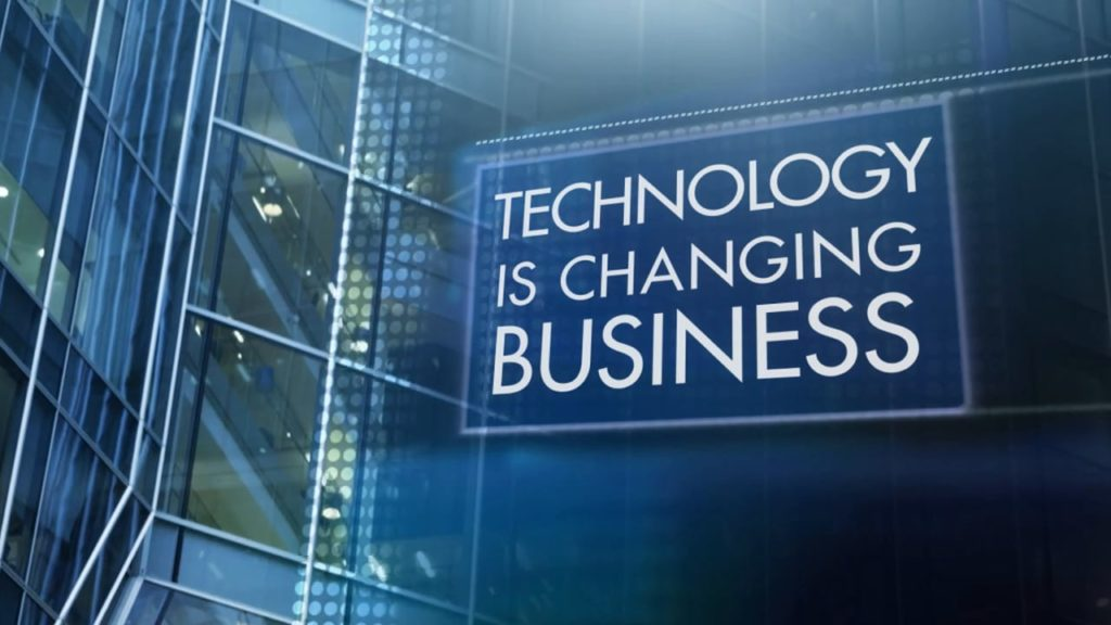 Technology is Changing Business