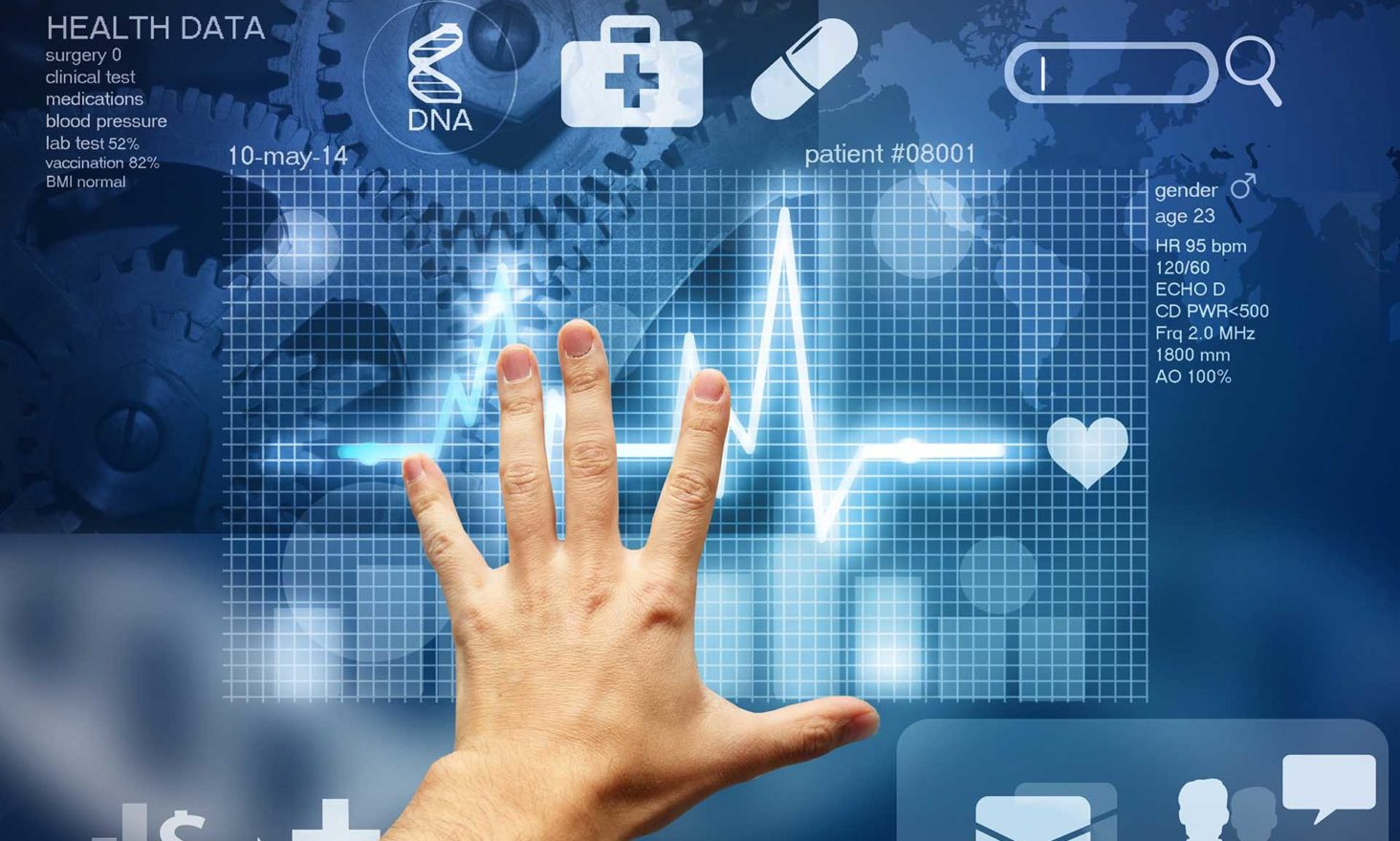 HealthHeart: Bringing Security, Usability, and Scalability to Electronic Health Records (EHRs)