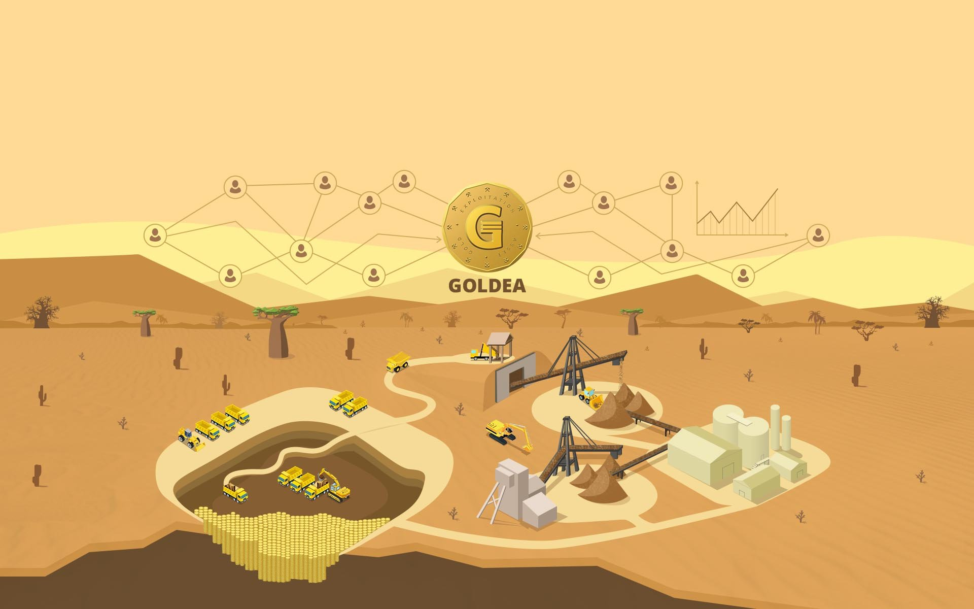 GOLDEA Launches the First Phased ICO on a Progress Basis From the Real Sector