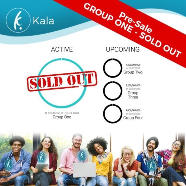 Kala Group One Pre-Sale sold out