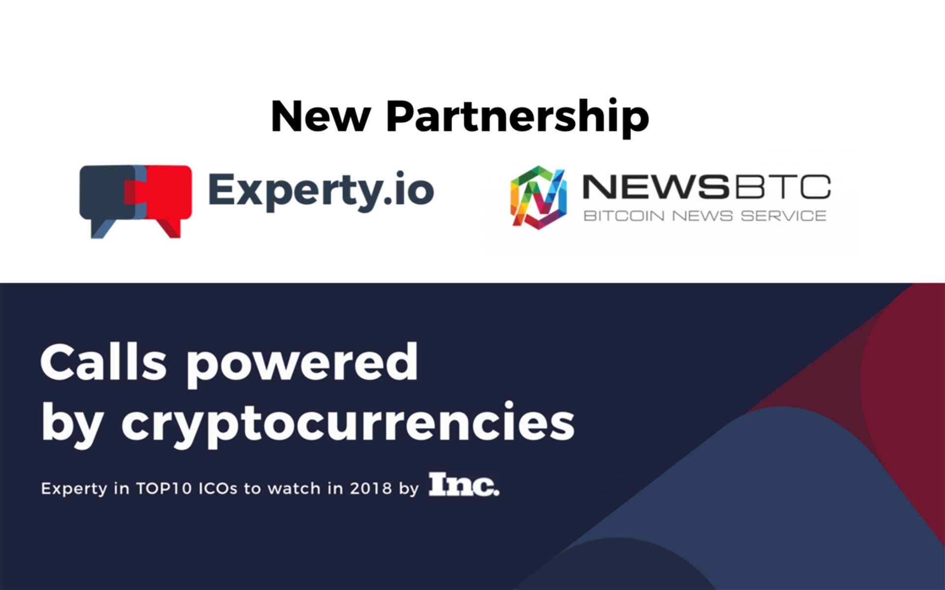 Experty Partners with NewsBTC