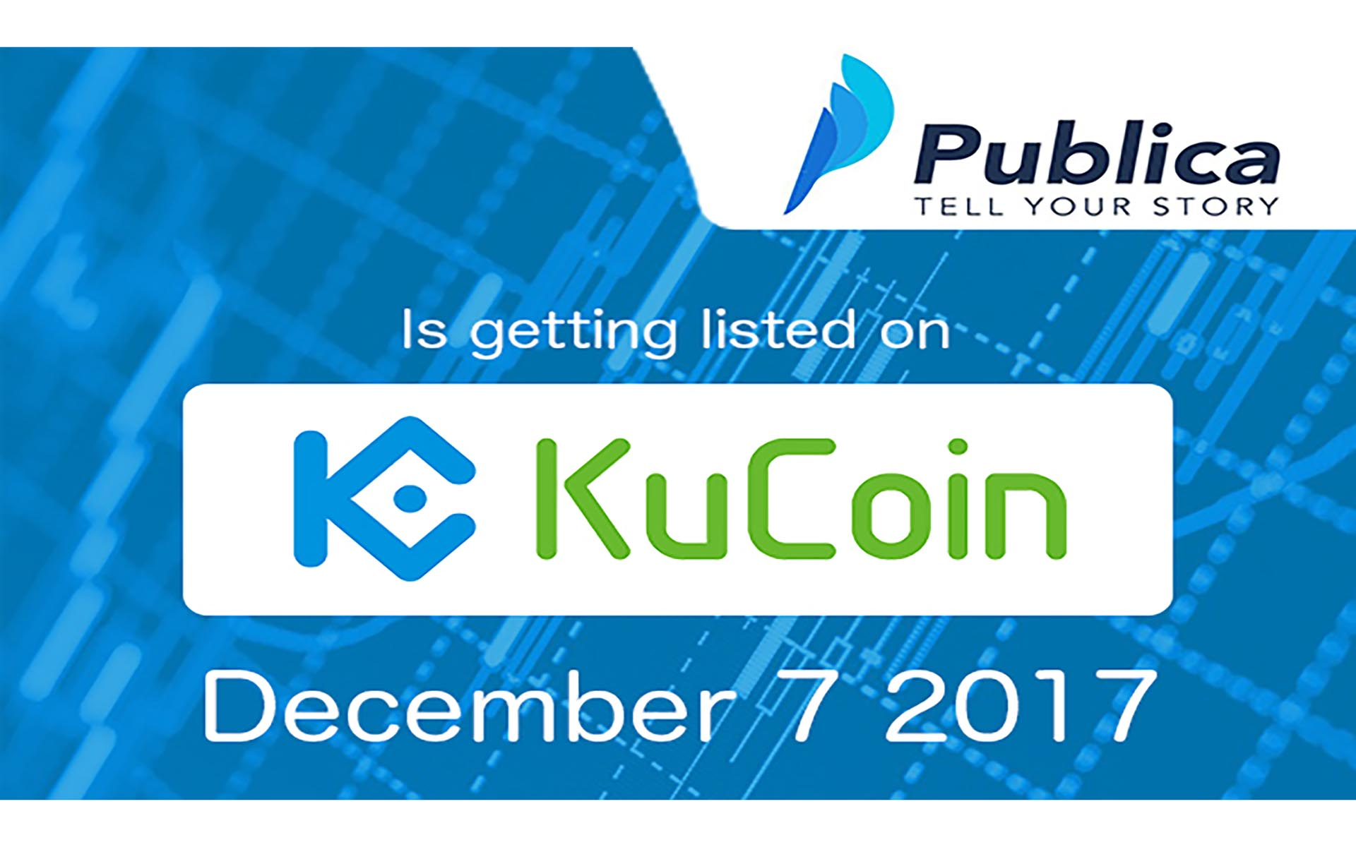 Publica Will Be Listed On KuCoin: Trading Starts On December 7