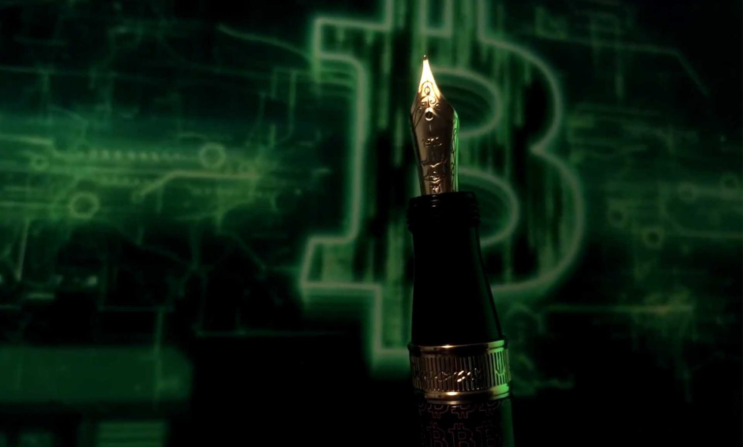 Limited Edition Bitcoin Pens: A New Type of IPO (Initial Pen Offering)