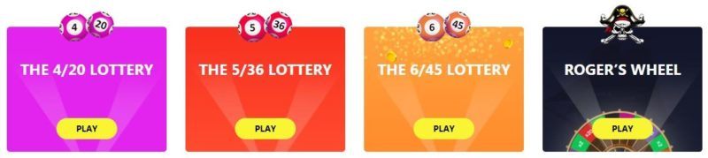 Fire Lotto Games