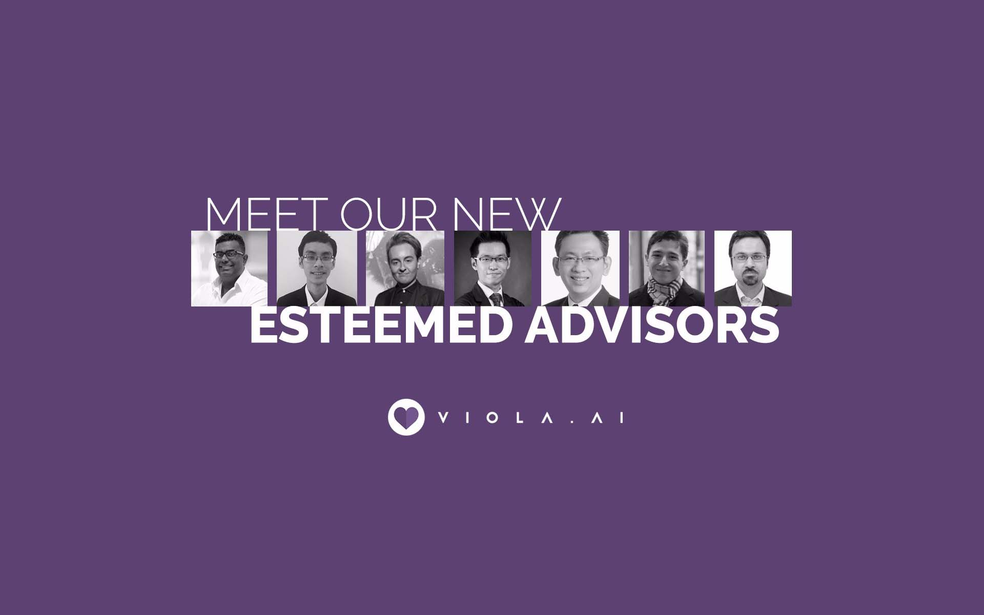 7 More Serial Entrepreneurs, Blockchain and Crypto Experts Join Viola.AI Advisory Board