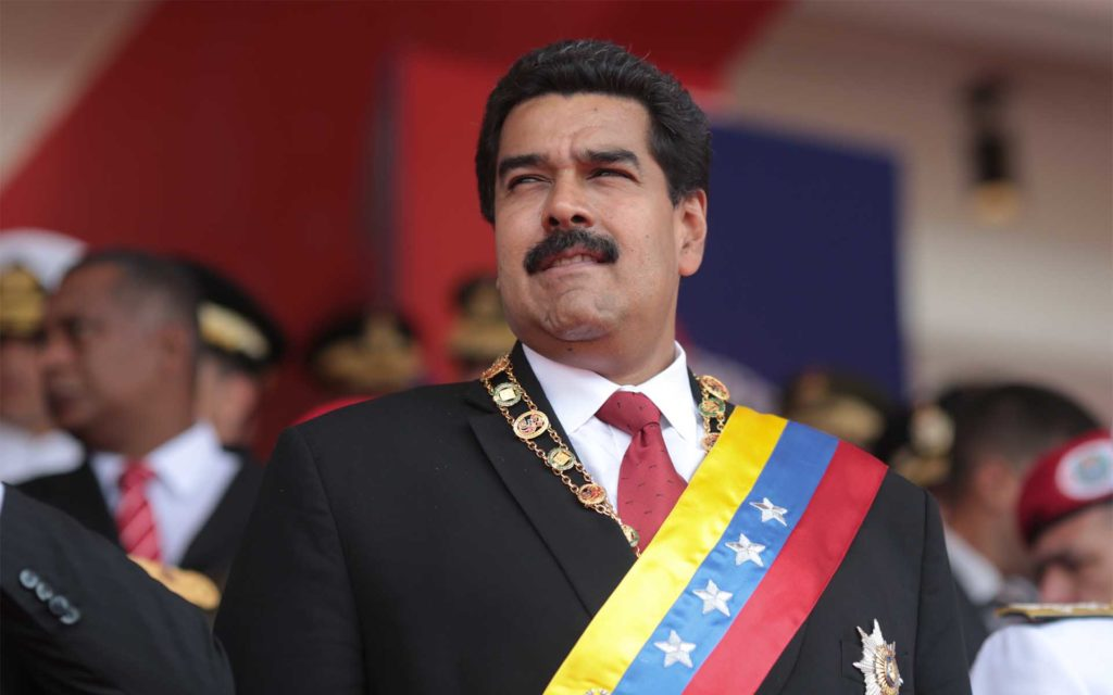 Maduro Calls Out President Trump On Twitter, Requesting 'Dialogue'