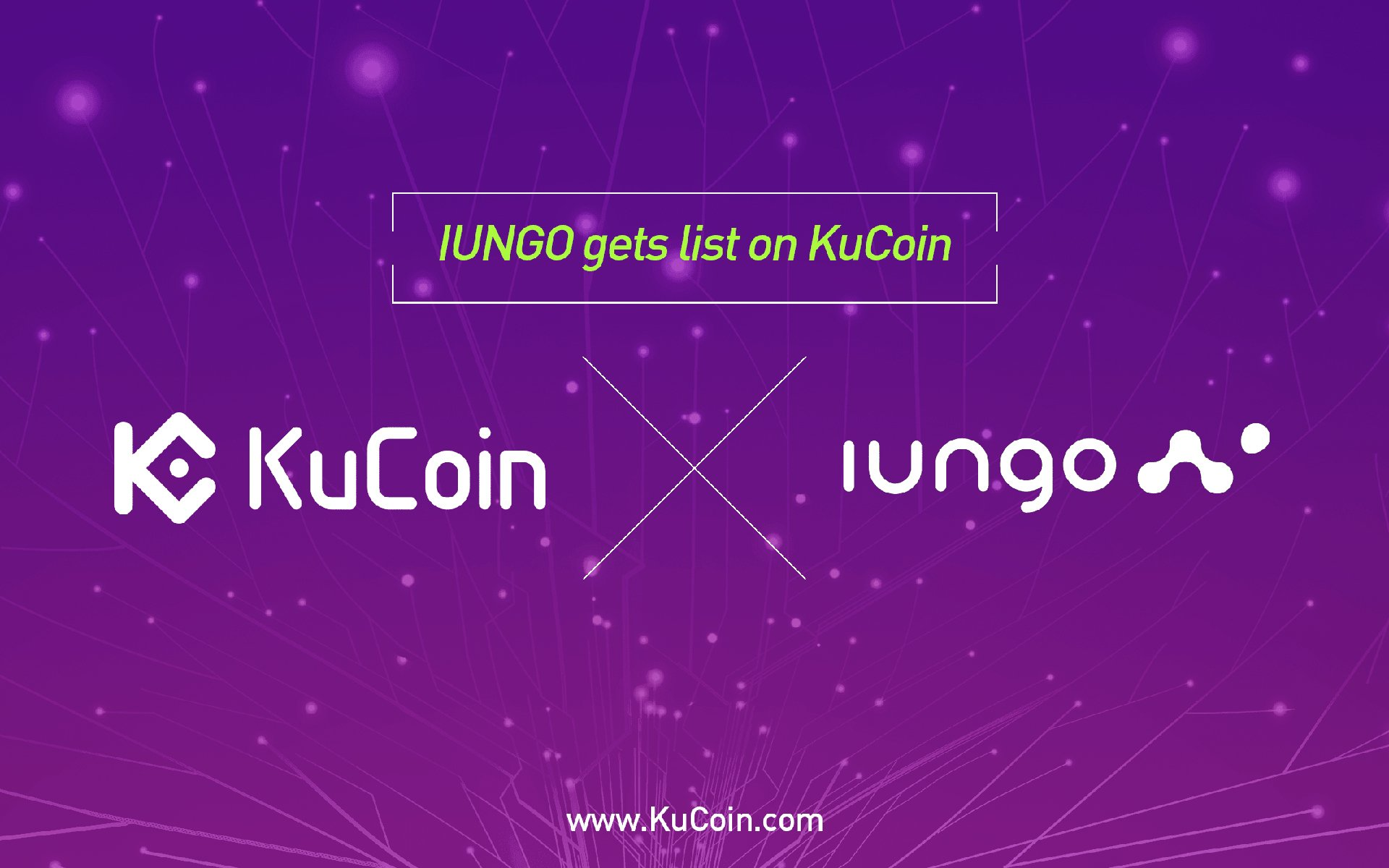 IUNGO Gets Listed On KuCoin First
