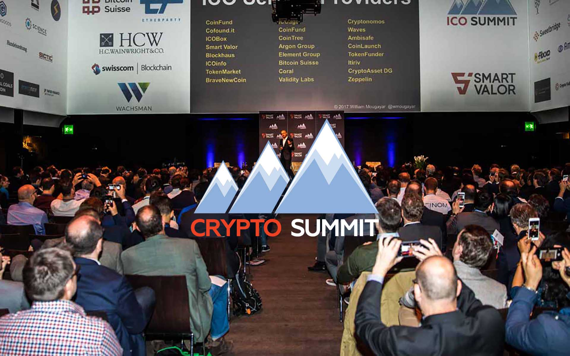 Blockchain Startup SMART VALOR Announces 2nd Annual Crypto Summit