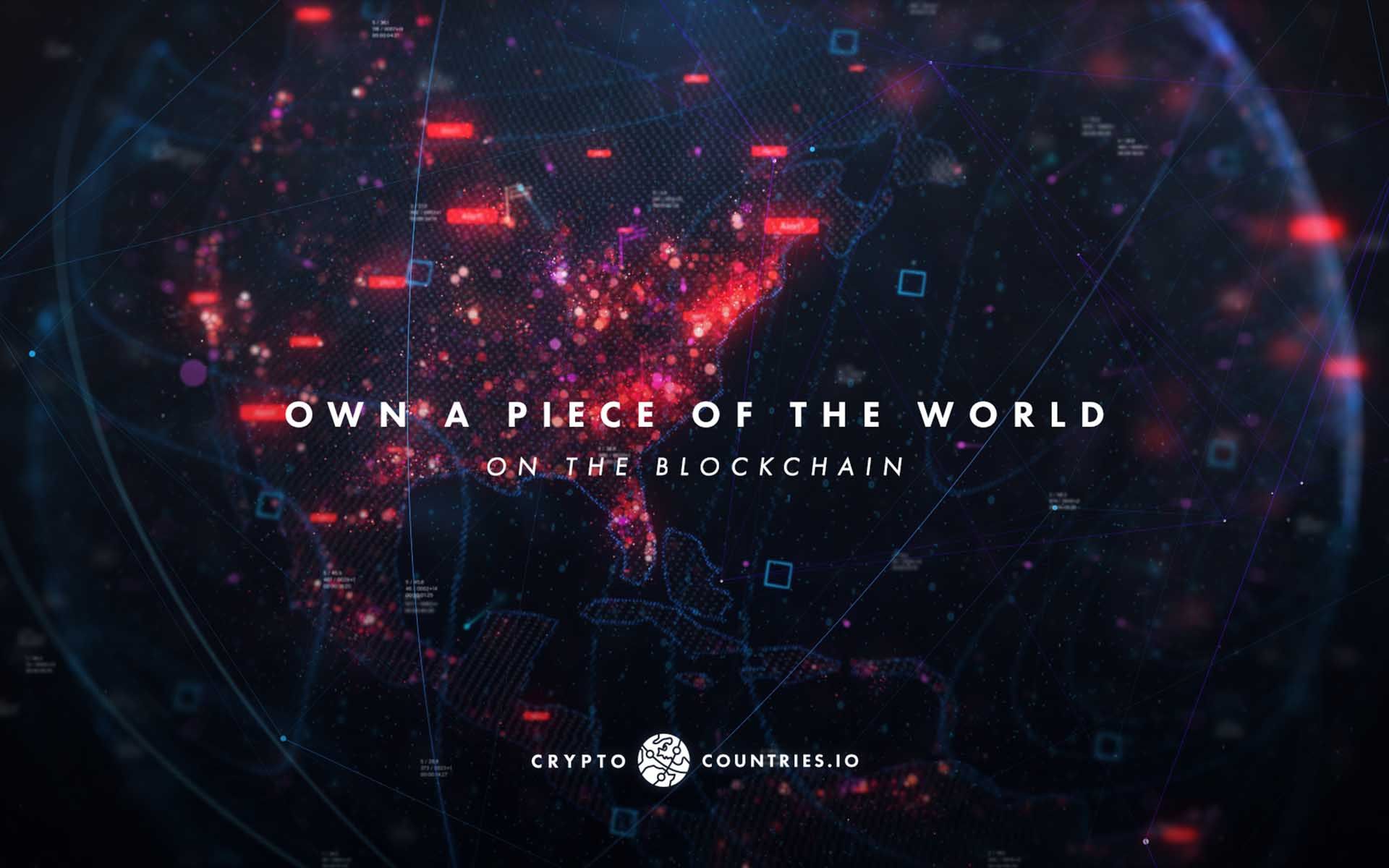 Buy a Piece of the World on Ethereum Blockchain