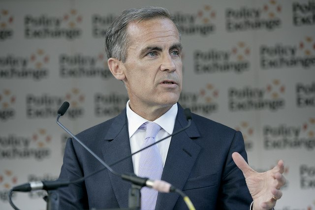 BoE's Governor Carney Says Bitcoin Fails as a Substitute Currency