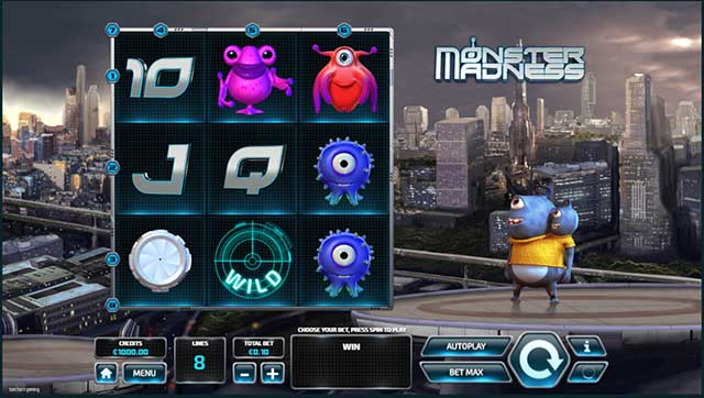 Monster Madness Slot Machine Online ᐈ Tom Horn™ Casino Slots