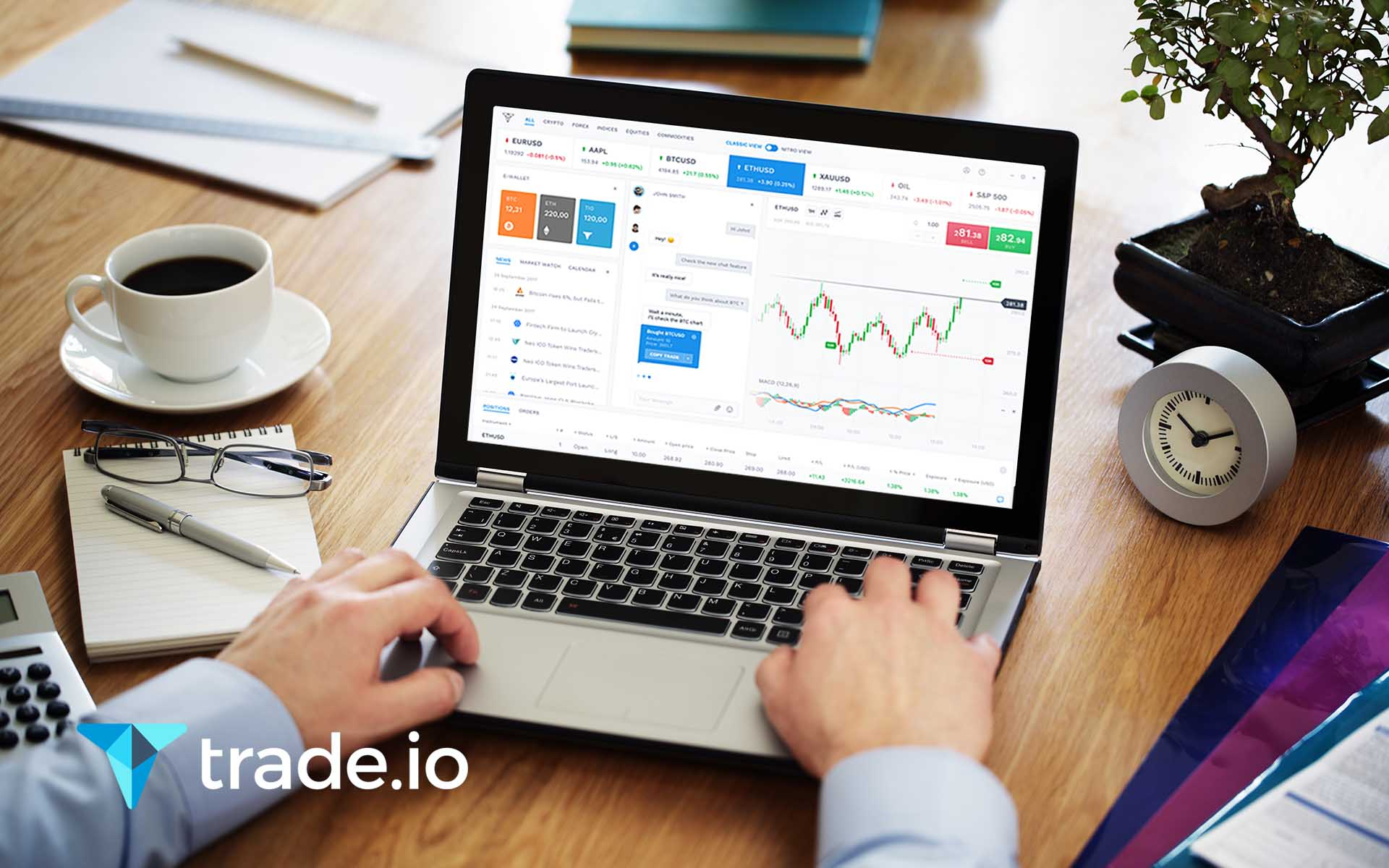 Innovative trade.io Exchange Launching April 1