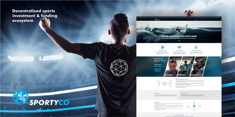 SportyCo's decentralized sports investment ecosystem gives up-and-coming athletes a way to get the funds they need to ensure their athletic success.