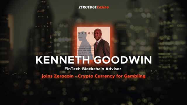 ZeroEdge is extremely excited to announce that fintech – blockchain advisor, global speaker and executive, Kenneth Goodwin has joined the ZeroEdge advisory team