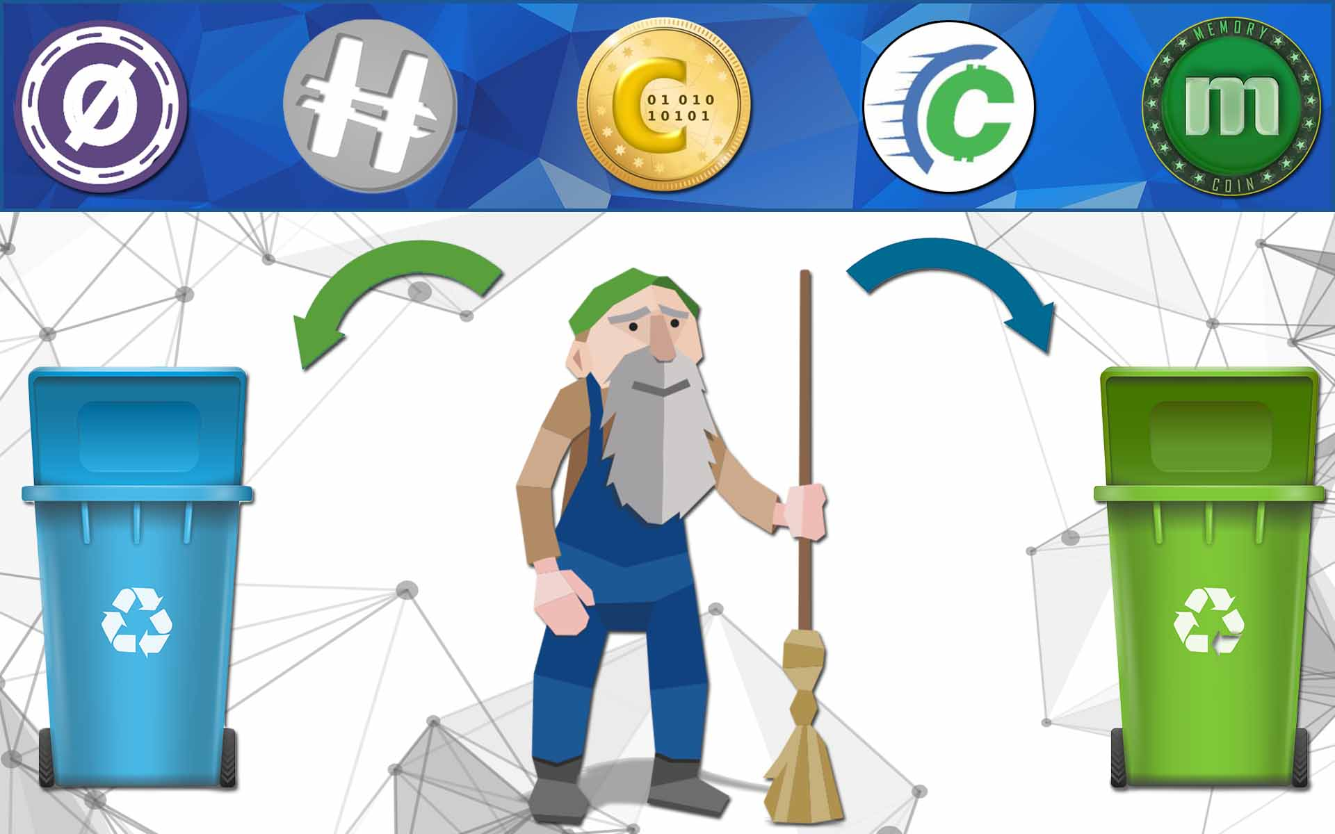 CoinJanitor Hopes to Clean Up Crypto with the Help of the Community
