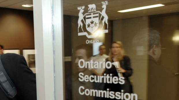 Canada's Ontario Securities Commission