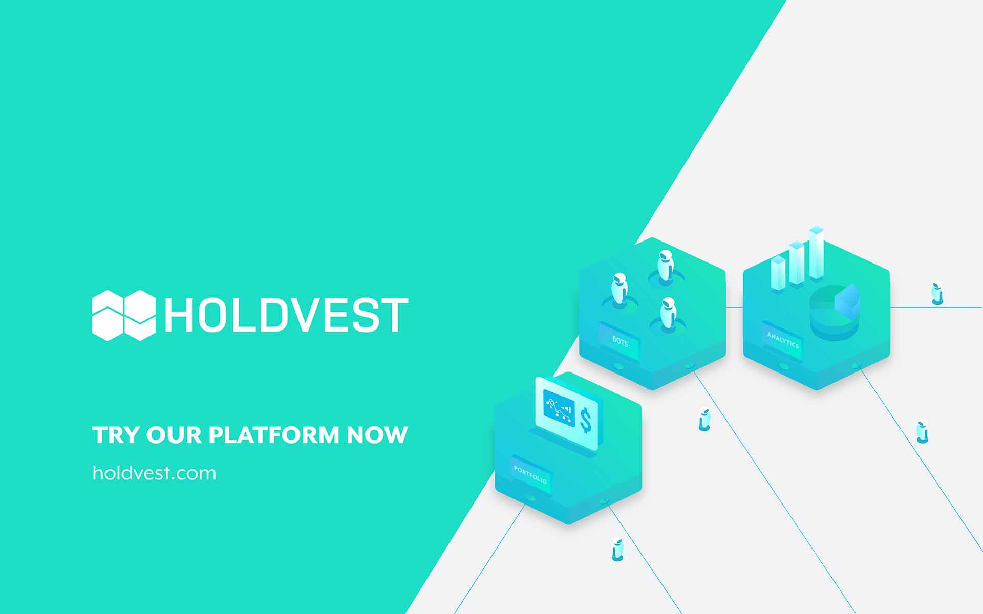 HOLDVEST: One-Stop Cryptocurrency Trading & Investing