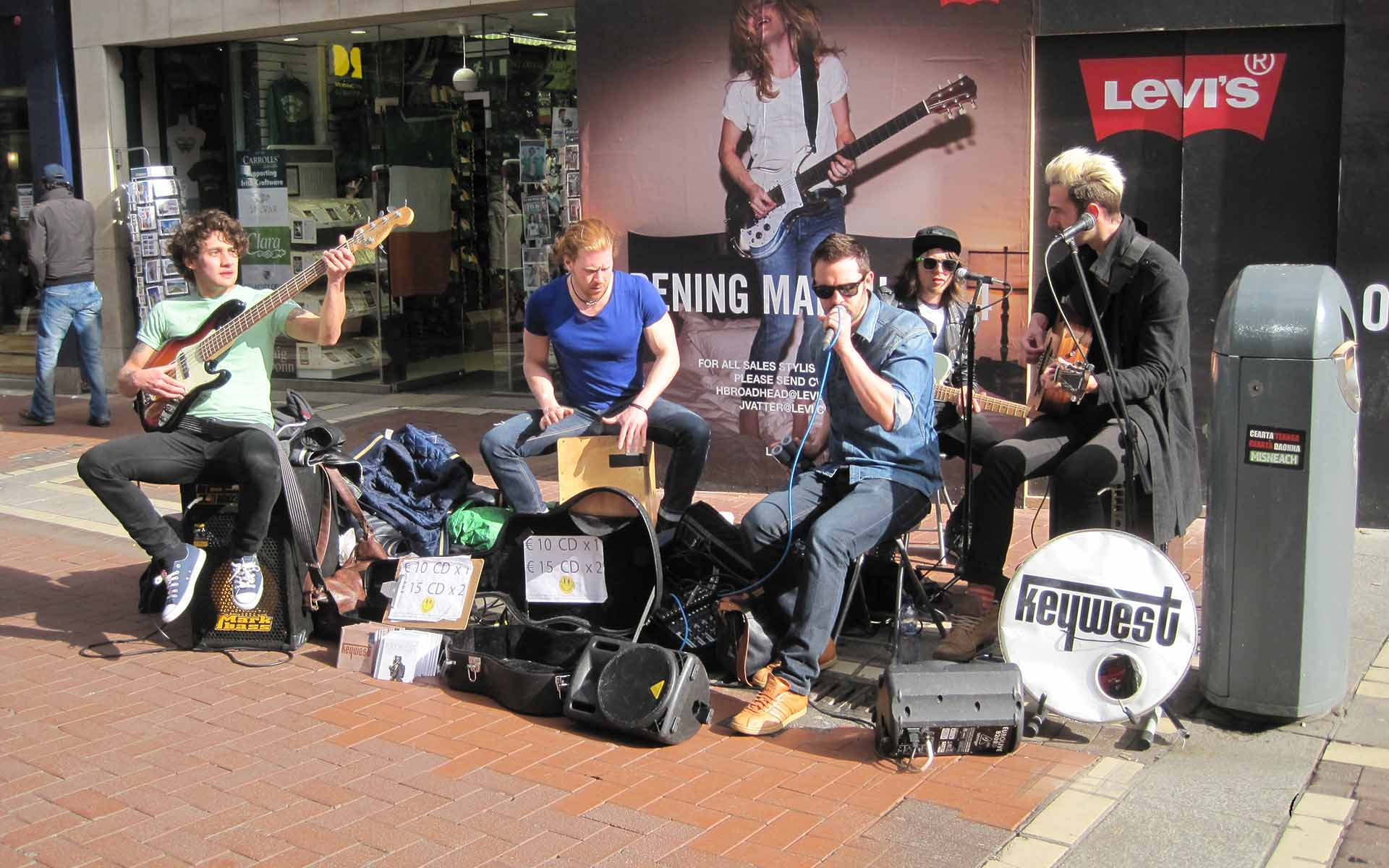 Bitcoin for Buskers - a Case Study in Micro-Transactions